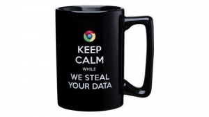Keep calm while we steel your data